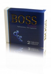 Boss Energy - suplement diety, 2 tabletki x 411 mg