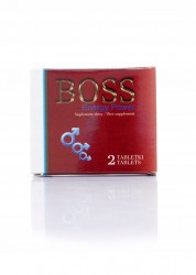 Boss Energy Power -  suplement diety, 2 tabletki x 460 mg